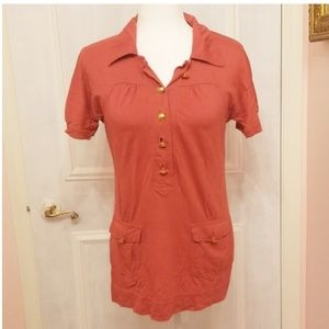 MARC JACOBS pink polo